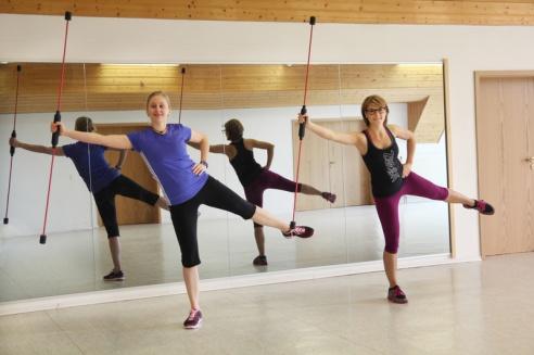 Übungen mit dem FlexiBar, Rückenfitness